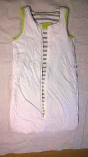 Die Vorlage für den neuen Schlafsack